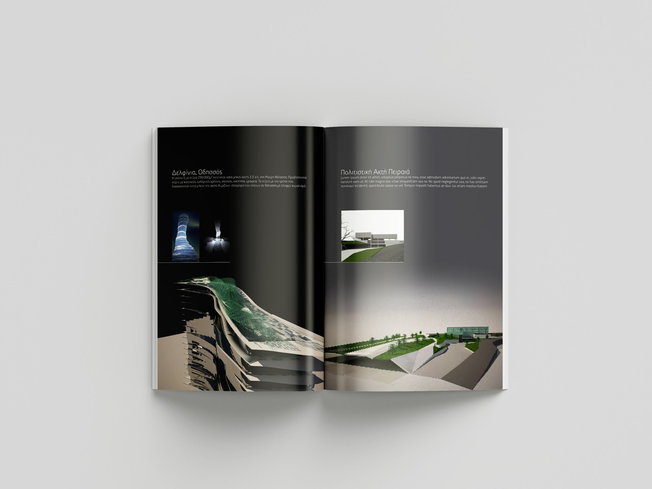Architects 75 brochure design