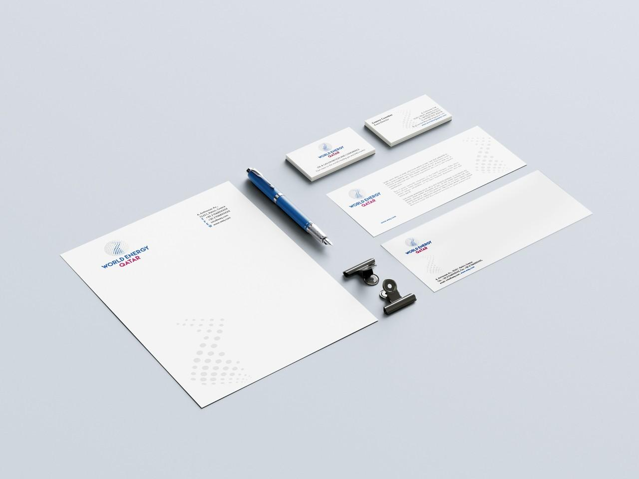 World Energy Qatar-Branding design