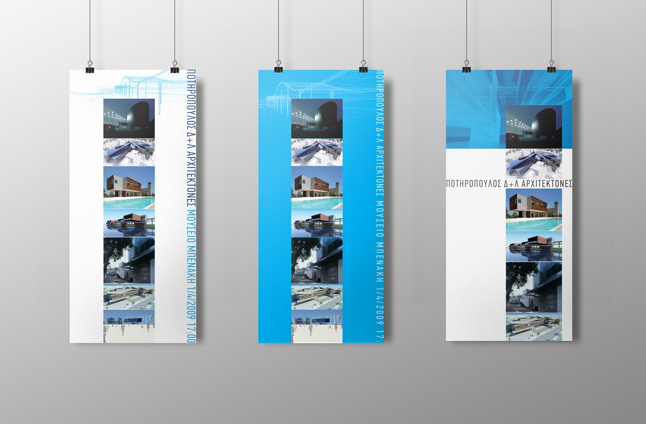 Potiropoulos+Partners banners design