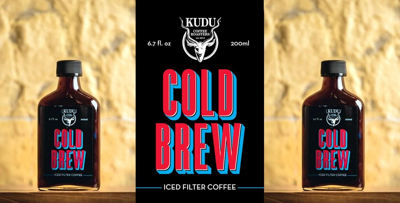 Kudu coffee roasters Cold Brew package design