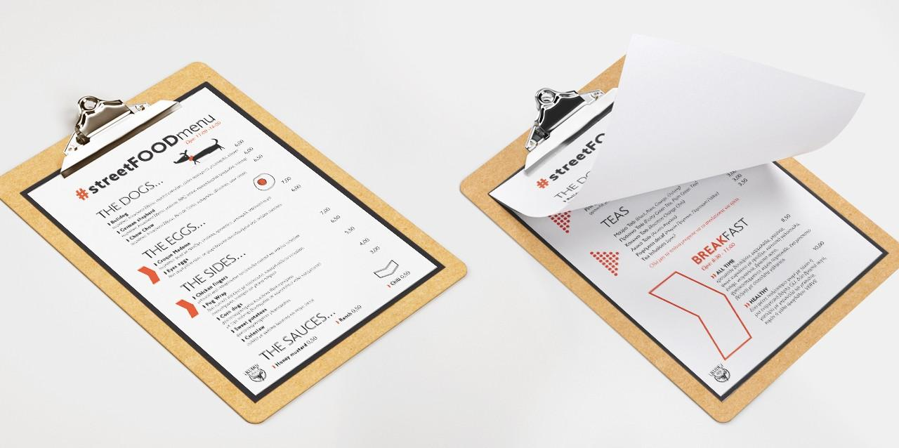 Kudu menu design