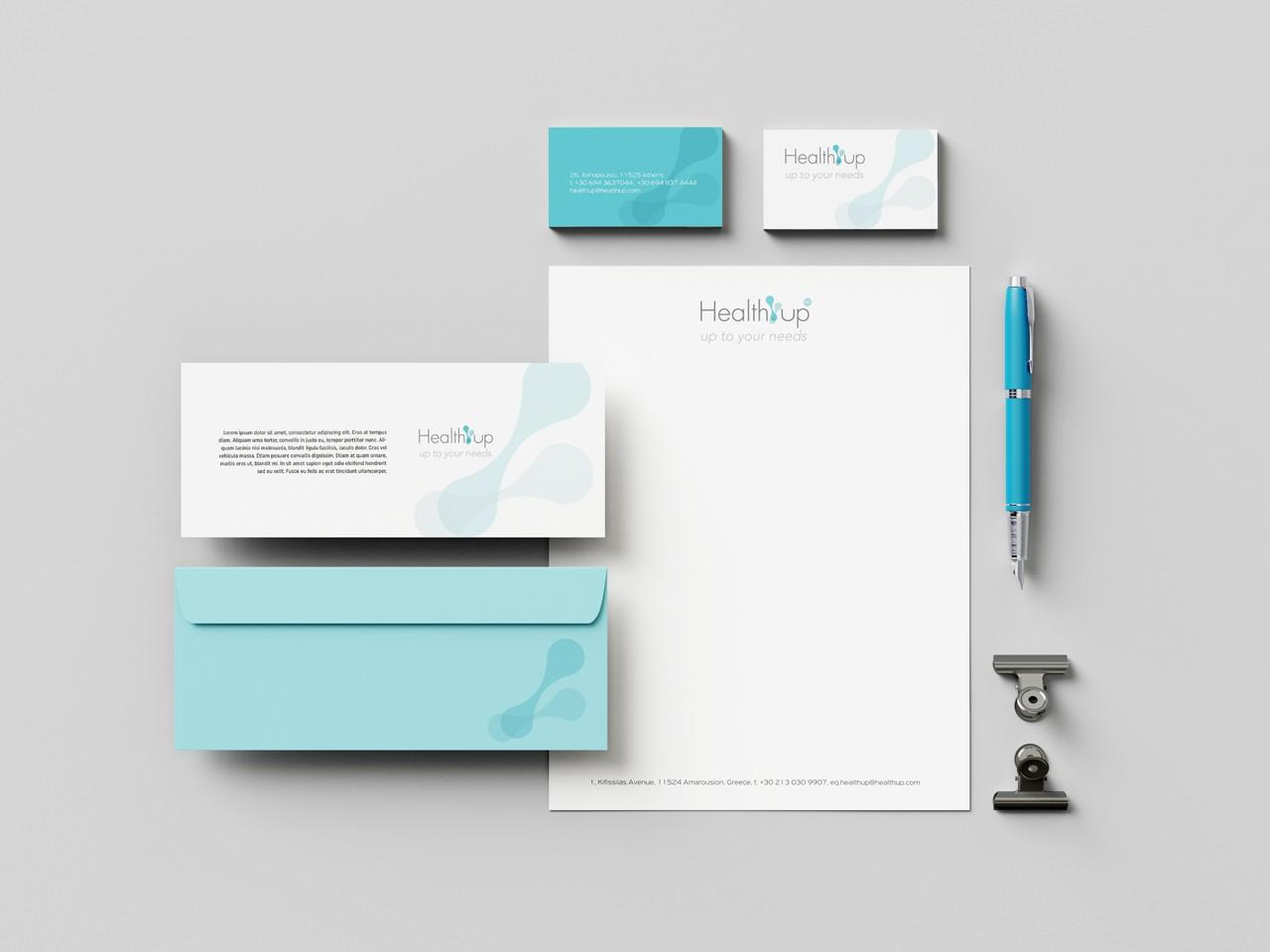 HealthUp-corporate identity design
