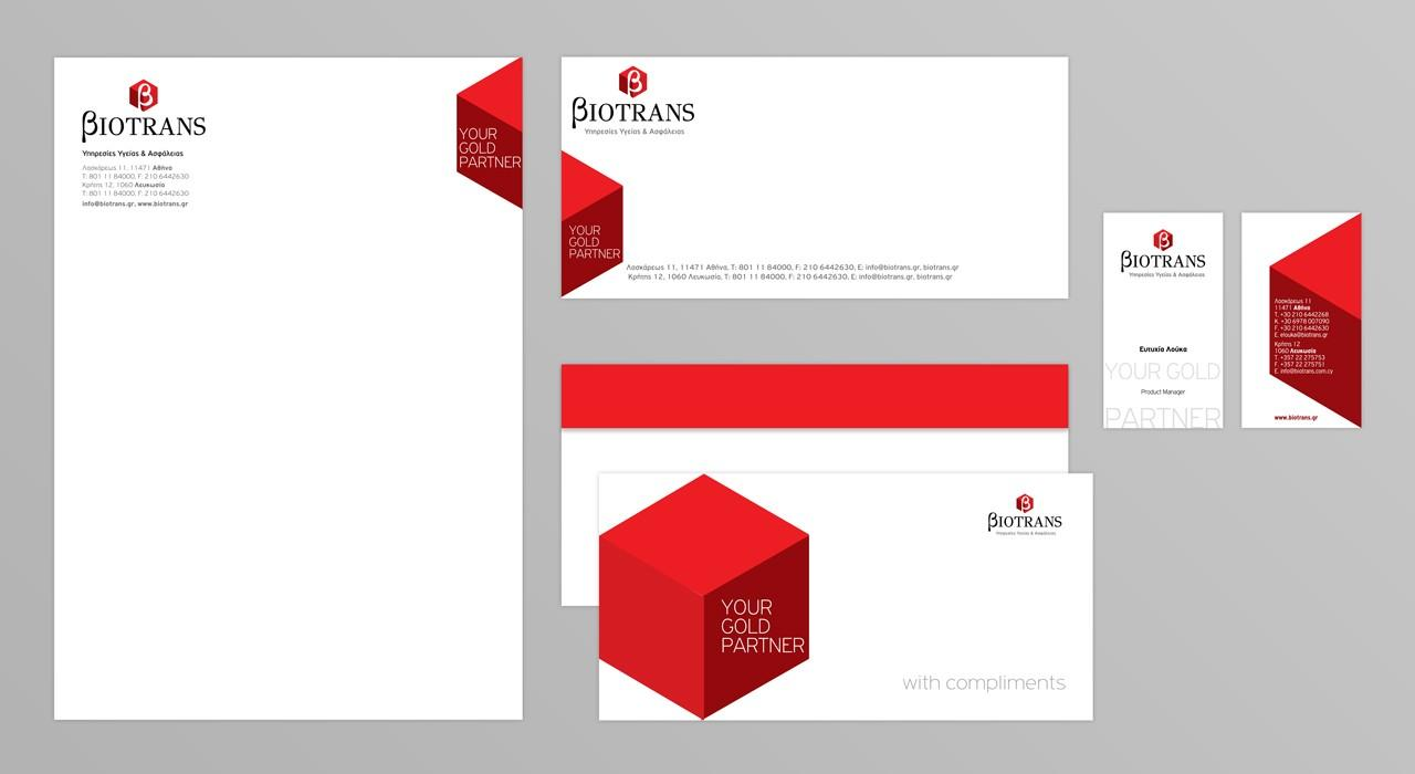 Biotrans-corporate identity design