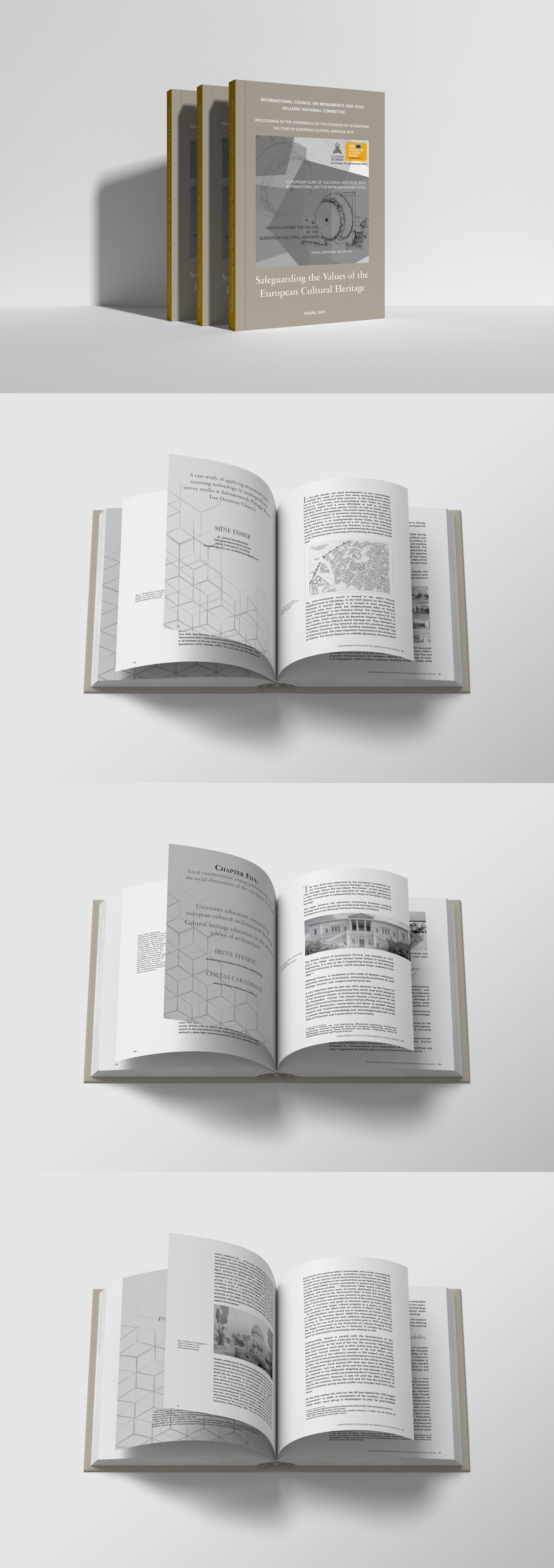 ICOMOS book design